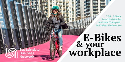 E-Bikes & your workplace