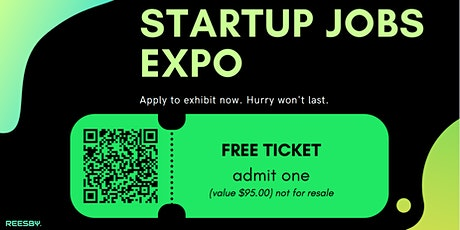 Startup Jobs Expo (Online Event) tickets