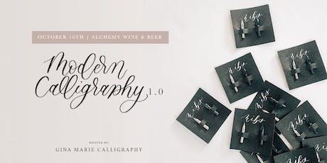 Modern Calligraphy 1.0 for Beginners | Hamburg, NY tickets
