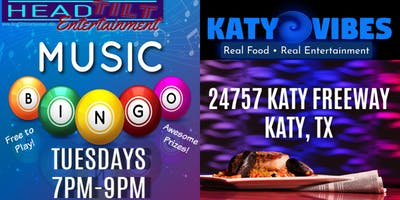 Music Bingo at Katy Vibes - Katy, TX