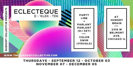Eclecteque! feat. Party Line + Parlant Parlant + Color Swim tickets