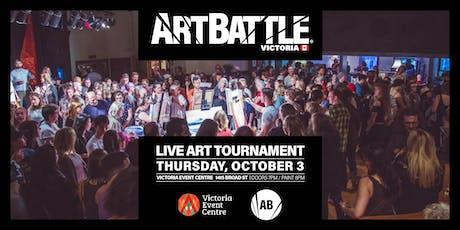 Art Battle Victoria - October 3, 2019 tickets