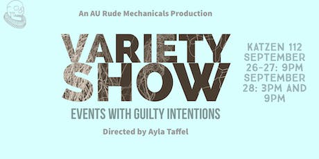 Events with Guilty Intentions tickets