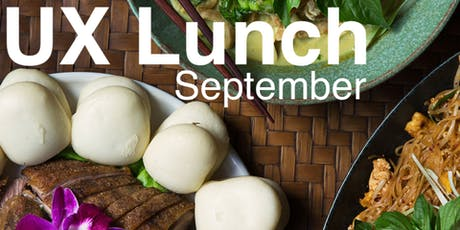 UX Lunch - September tickets
