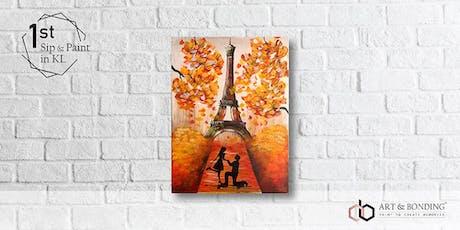 Sip & Paint Night : Autumn In Paris tickets