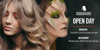 The Australian Academy of Cinemagraphic Makeup Brisbane Campus Open Day & Student Showcase