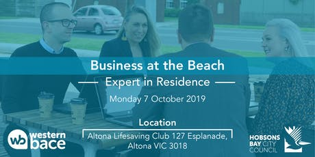 Beachside Expert in Residence - Mon 7th Oct tickets