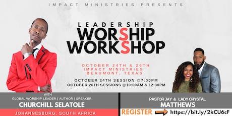 Leadership Worship Workshop tickets