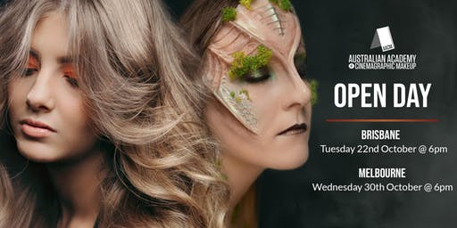 The Australian Academy of Cinemagraphic Makeup Melbourne Campus Open Day & Student Showcase