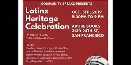 Latinx Heritage Celebration tickets