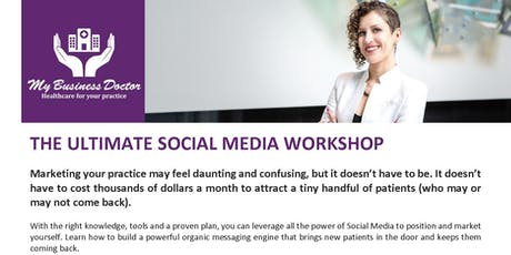 The Ultimate Social Media Workshop - MONTREAL tickets
