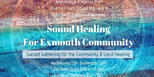 Sound Healing for Exmouth Community