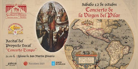 """Proyecto Vocal """"Concerto Tempo"""", Festividad de la Virgen del Pilar entradas"""