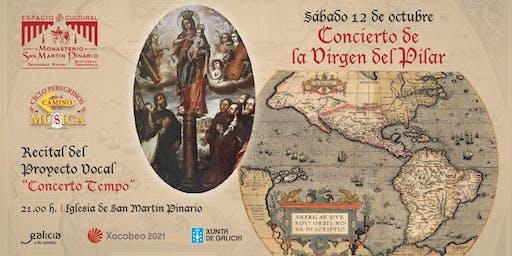 """Proyecto Vocal """"Concerto Tempo"""", Festividad de la Virgen del Pilar"""