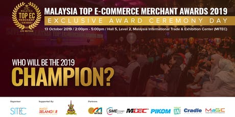 Malaysia Top E-Commerce Merchant Awards 2019: Awards Ceremony Day tickets