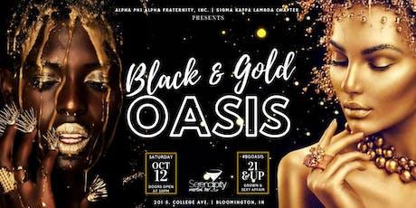 ΑΦΑ Presents: Black & Gold Oasis @ IU Homecoming 2019 tickets