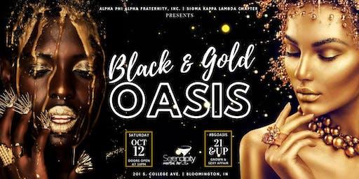 ΑΦΑ Presents: Black & Gold Oasis @ IU Homecoming 2019