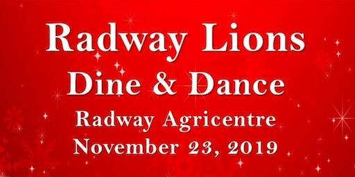 Radway Lions Dine & Dance