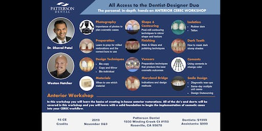 Anterior Cerec Workshop