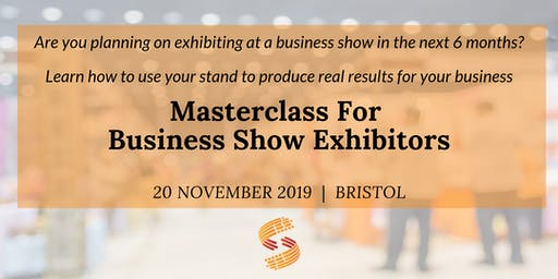 The  Masterclass For Business Show  Exhibitors