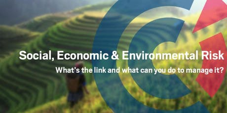 VIC | Social, Economic and Environmental Risk – What's the link and what can you do to manage it?- 10 October 2019 tickets