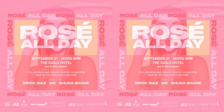 ROSE ALL DAY tickets
