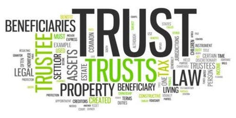 All about Trusts tickets