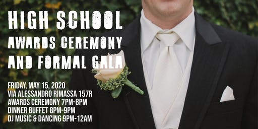 Extreme English High School Awards Ceremony and Formal Gala
