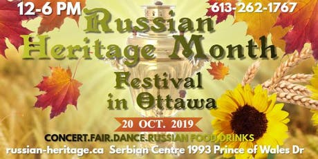 Russian Heritage Festival tickets