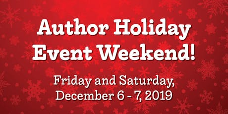Author Holiday Event Weekend tickets