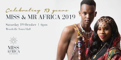 Miss & Mr Africa South Australia 2019 tickets