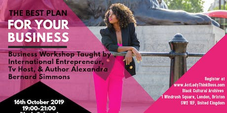 Think Like a Boss Presents: Strengthen The Black B tickets