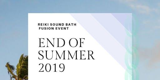 FREE BEACH SOUND BATH REIKI FUSION SESSION