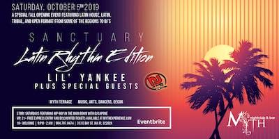 """Latin Rhythm"" Edition at Myth Terrace | Saturday 10.05.19"