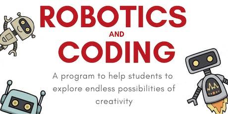 Robotics & Coding tickets