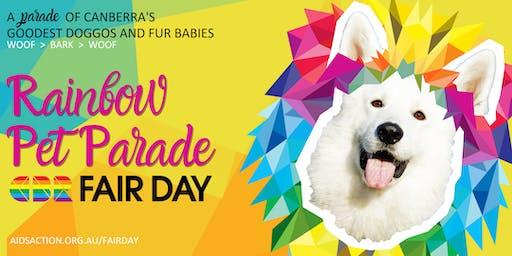 Rainbow Pet Parade @ CBR Fair Day 2019
