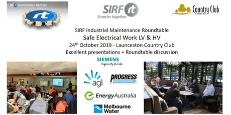VICTAS IMRt Safe Electrical Work LV & HV Roundtable - Launceston Country Club tickets