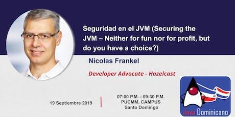 Seguridad en la JVM por  Nicolas Frankel tickets