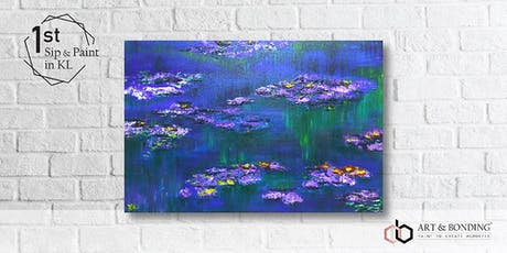 Sip & Paint Night : Monet's Water Lilies tickets