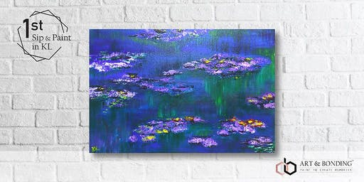Sip & Paint Night : Monet's Water Lilies