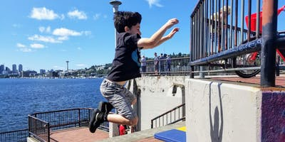 Drop-In Community Class: Parkour for Chimpanzees (6-11yrs)