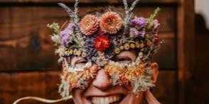 Dried Flower Masks
