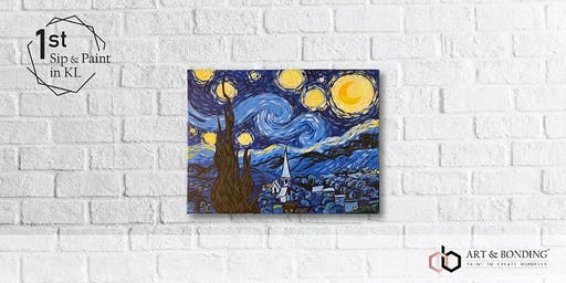 Sip & Paint Night : Van Gogh's Starry Night