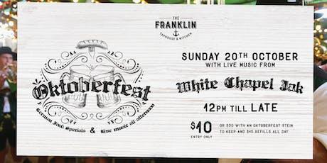 Oktoberfest Feat. White Chapel Jak tickets