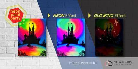 Sip & Paint Night : NEON Paint Party - Tinker Bell Lighting Up The Castle tickets