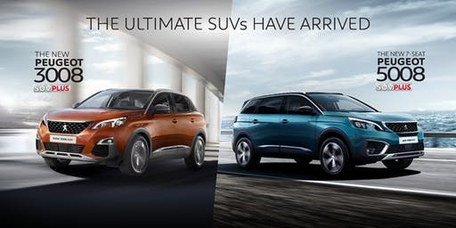 All New Peugeot 3008/5008 SUV PLUS-Preview & Test Drive Carnival