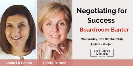 Sunshine Coast, BWA: Negotiating For Success tickets