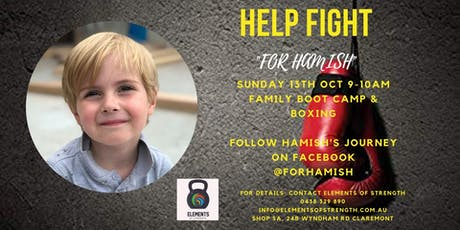 Fight For Hamish tickets