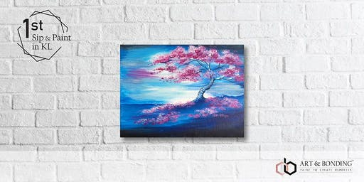 Sunday Sip & Paint : The Pink Tree