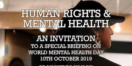HUMAN RIGHTS AND MENTAL HEALTH EVENT tickets